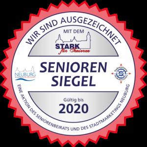 Seniorensiegel 2020